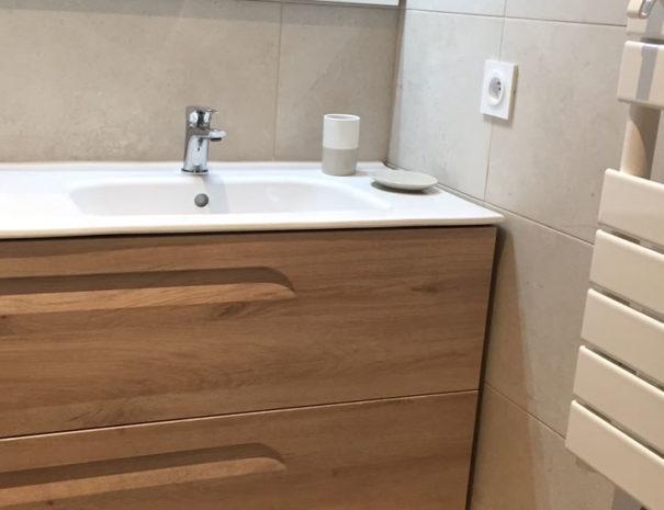 Sèche serviette programmable avec télécommande